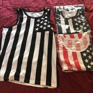 Other - American flag tank top